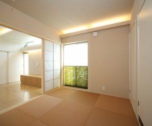 富山市の注文住宅施工例 和室