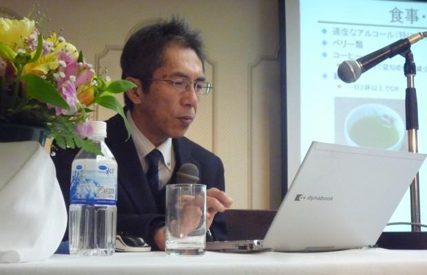 富山市で子育てと健康志向向けの講演会