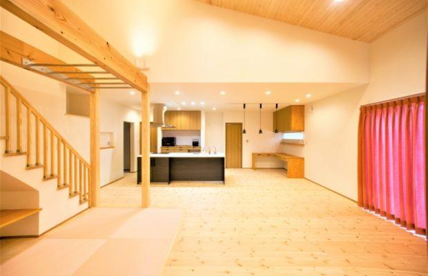 滑川市の注文住宅施工事例:口コミで広がる抗酸化の家の平屋