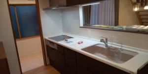 富山市の健康住宅会社レモンホームの黒川様邸キッチン
