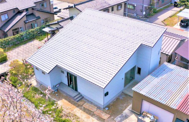 白山市で注文住宅を建てるレモンホームのお家の外観