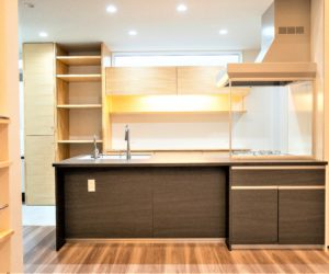 白山市で注文住宅を建てるレモンホームのお家のキッチン