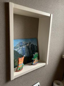 富山市の健康住宅Y様邸小物スペース