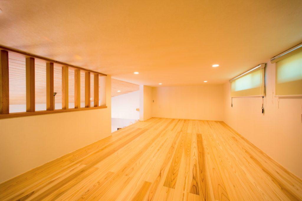 富山市の健康住宅会社レモンホームのY様ロフト