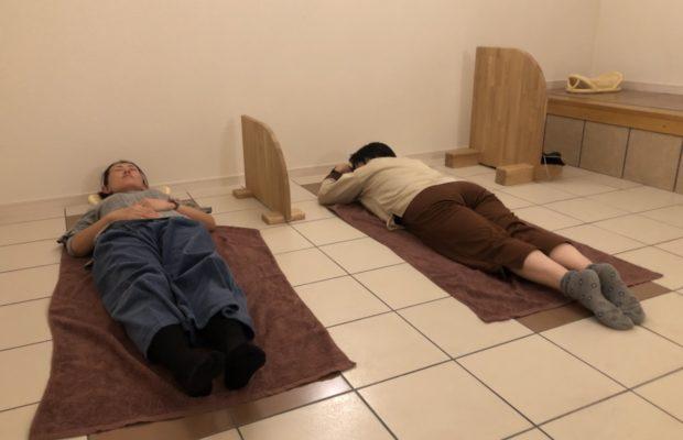 富山市の注文住宅の抗酸化陶板浴交流会