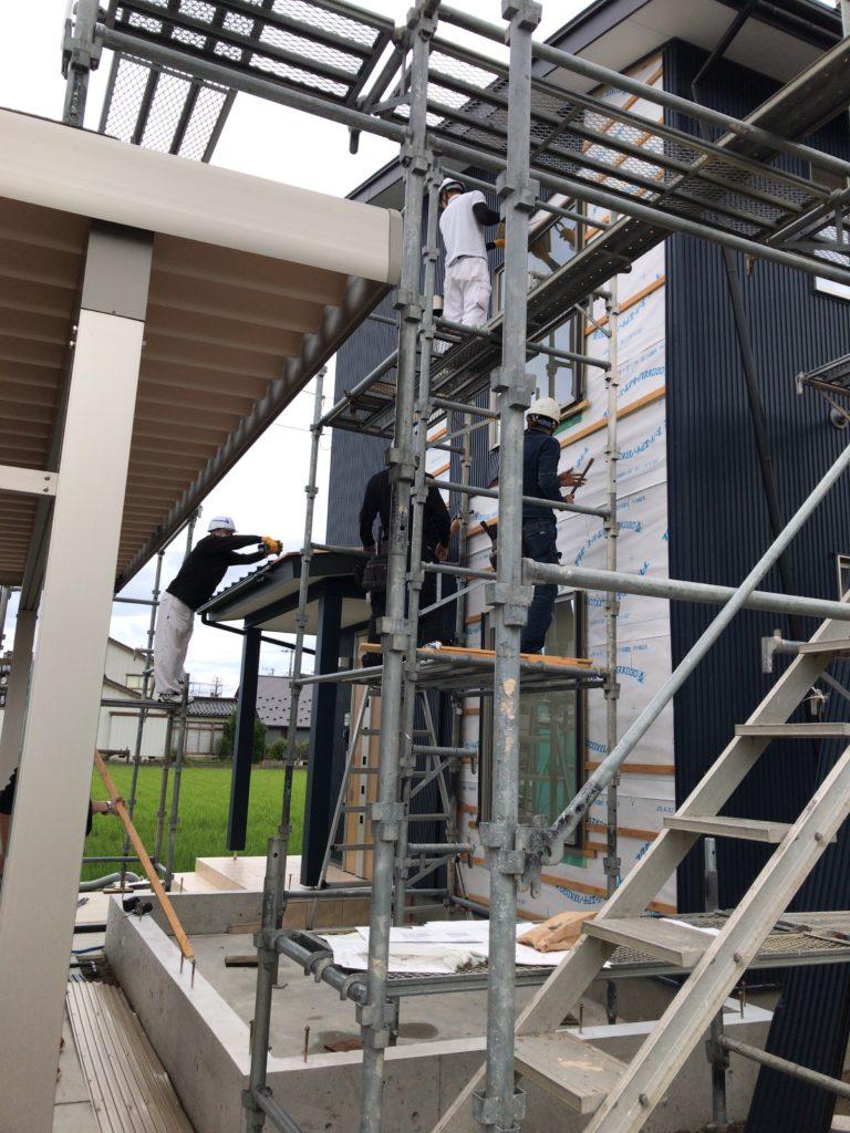高岡市の健康住宅の増築工事