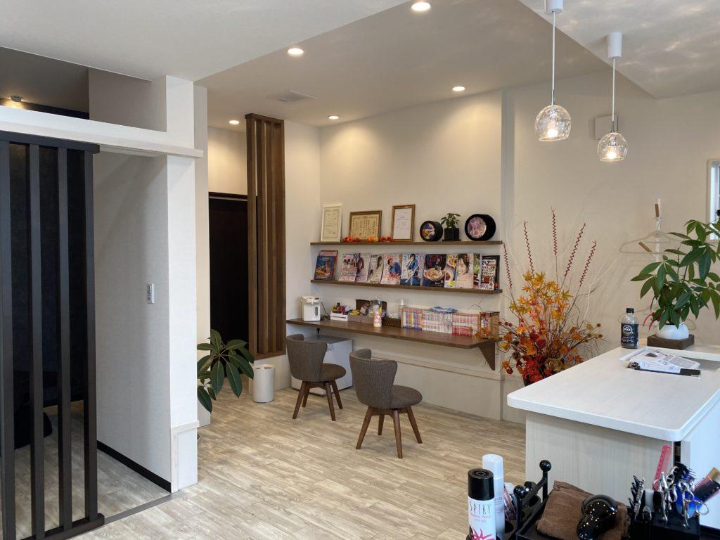 黒部市の注文住宅のリフォーム美容室