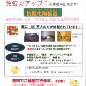 富山市の注文住宅の陶板浴