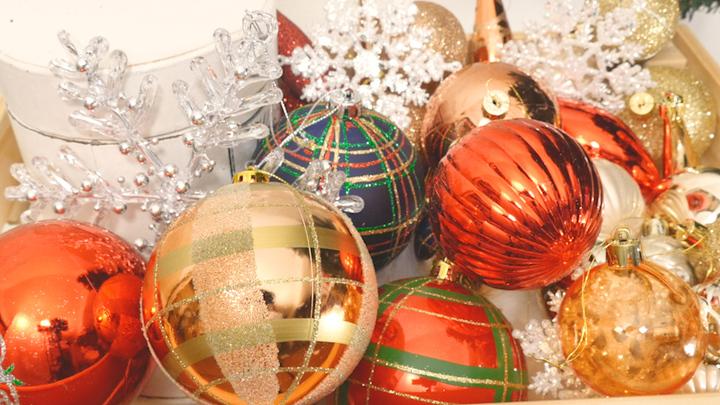 富山市の注文住宅のクリスマスイベントオーナメント
