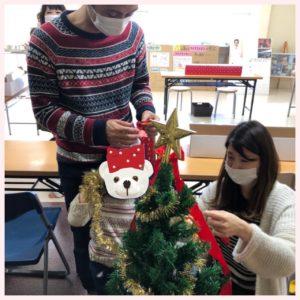 富山市の注文住宅でのクリスマスイベント