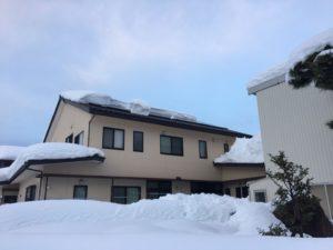 富山市の注文住宅の積雪