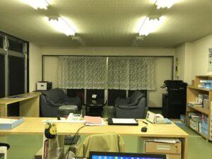 滑川市の注文住宅の事務所
