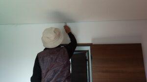 富山市の注文住宅のアフターメンテナンス壁の塗りなおし