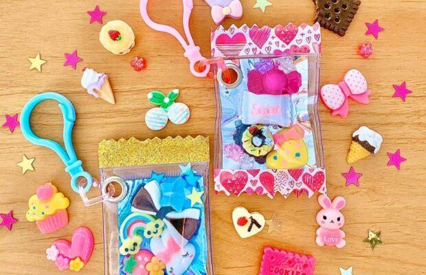 金沢市の注文住宅のカラフルキャンディバッグ作り