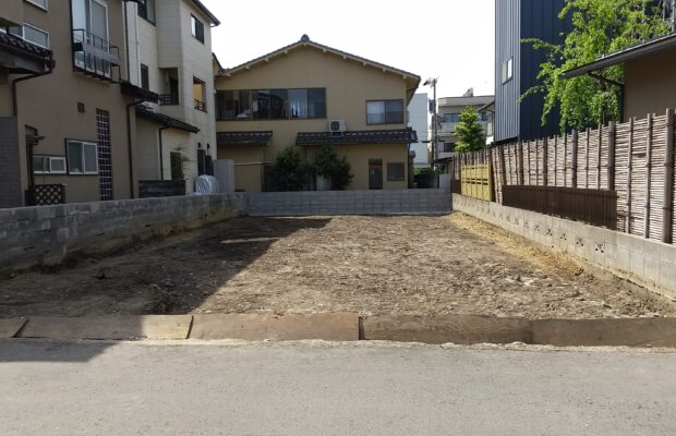 金沢市の注文住宅用地