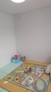 滑川市の木の家の子ども部屋