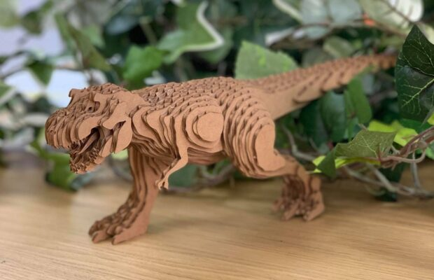 富山市の注文住宅の恐竜イベント