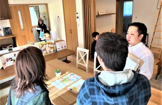 富山市の注文住宅の見学会