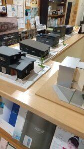 富山市の注文住宅の木の家の模型