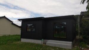 高岡市の注文住宅の施工外観
