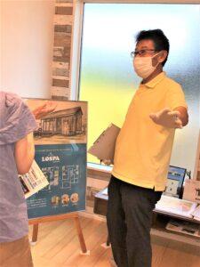 金沢市の注文住宅の完成見学会