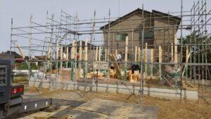 富山市の注文住宅の増築工事
